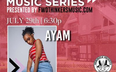 Live Show >> Seminole Heights 'Lawncert' Series | AYAM | July 29th