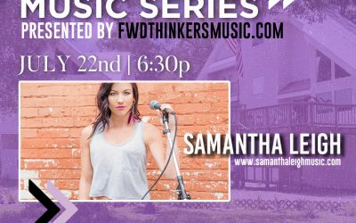 New Show >> Seminole Heights 'Lawncert' Series | Samantha Leigh | July 22nd
