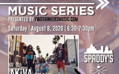 LIVE SHOW >> 'Slow Drip Sessions' | Spaddy's Coffee | AKiVA the band | 8/9 6:30