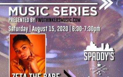 LIVE SHOW >> 'Slow Drip Sessions' | Spaddy's Coffee | ZETA THE BABE | 8/15 6:30PM