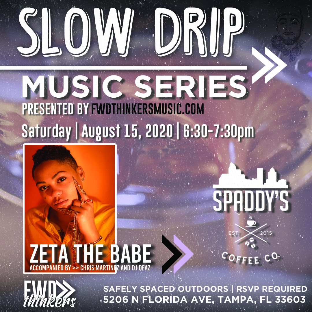 Zetathebabe-SlowDrip-Spaddys-Local artists-live show-Tampa-Florida