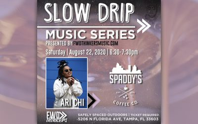 LIVE SHOW >> 'Slow Drip Sessions' | Spaddy's Coffee | ARI CHI | 8/22 6:30PM