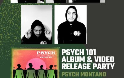 LIVE SHOW >> Psych Montano – 'Psych 101' Album/Video Release