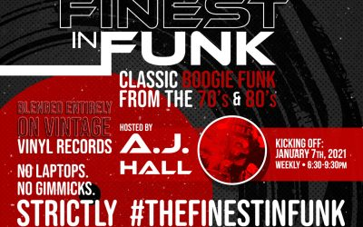 "NEW WEEKLY PARTY >> ""The Finest In Funk"" w/ AJ Hall @ New World Brewery"