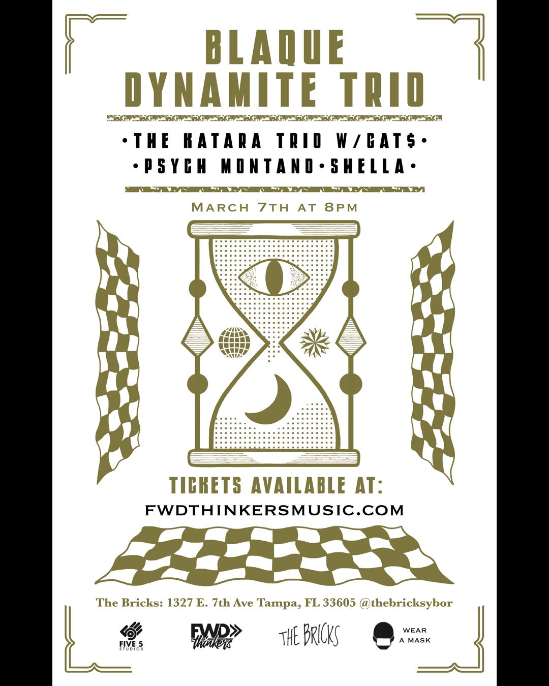 Fwdthinkers-Five5-Blaque Dynamite trio