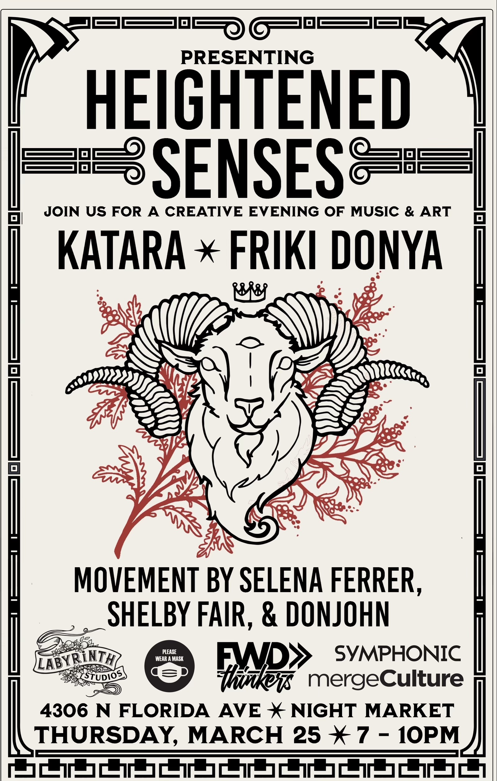 Heightened Senses-Five5-Seminole Heights-Labyrinth-Live-KataraTrio